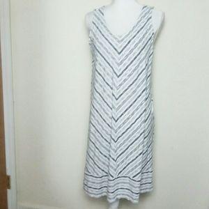J Jill Wearever Collection Sleeveless A-Line Dress